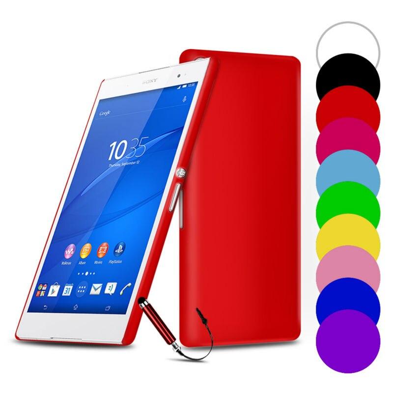 Delgada Trasera Dura Cajas Del Teléfono Para Sony Xperia Z2 Z3 compacto Serie XA