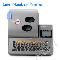 ПВХ трубки, принтер для подключения к ПК электронная наборная машина для кабельного принтера машина маркировки проводов S 700
