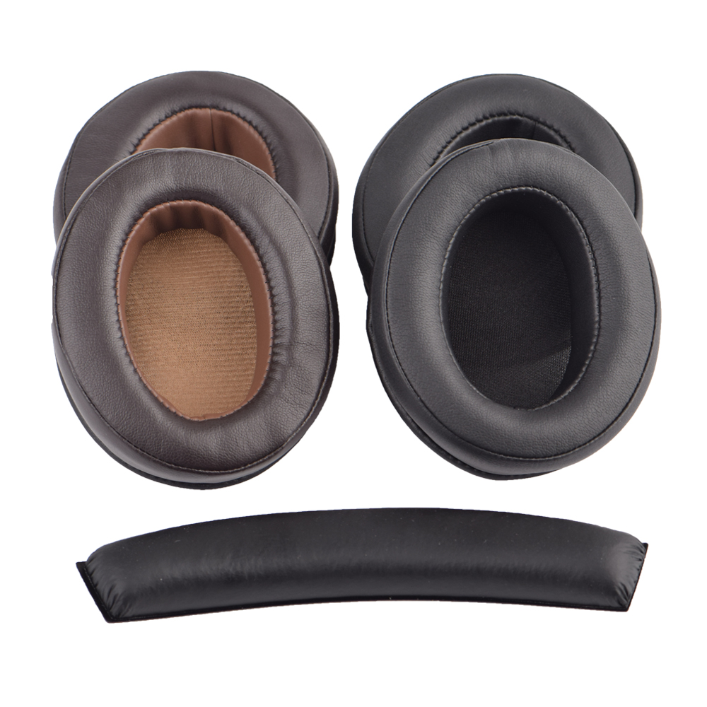 A Upgrade New Design Cushion Ear Pads Pillow Cover Earmuff For Sennheiser HD202 HD497 HD447 HD457 HD212 Headphones Sponge