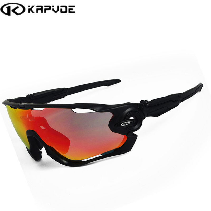 Kapvoe UV400 Cycling sunglasses Outdoor Sports Bicycle Bike Glasses bicicleta Gafas ciclismo Cycling Glasses Goggles Eyewear цена 2017