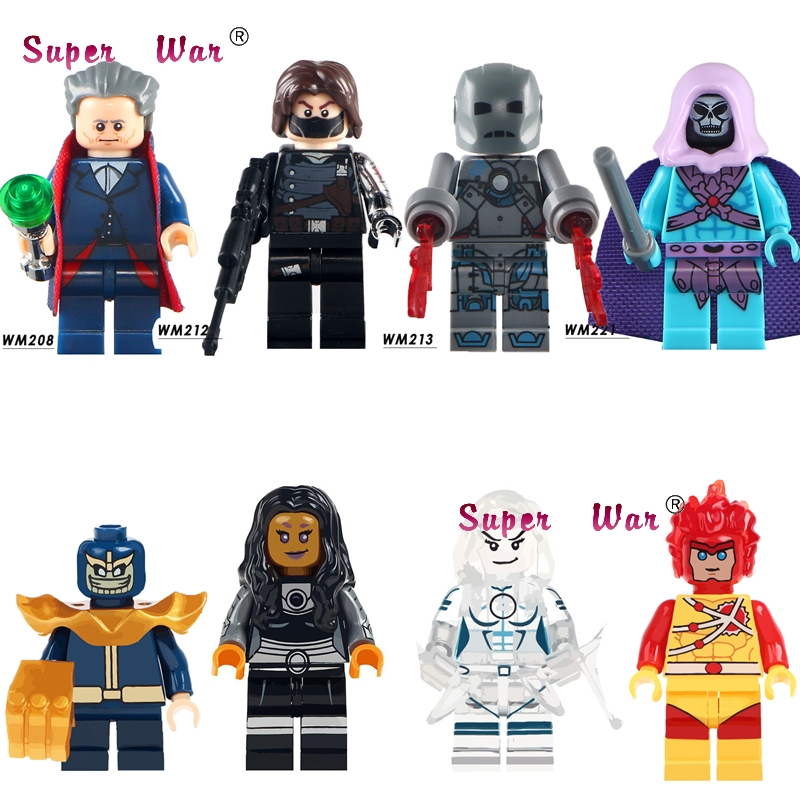 1 Pcs Skeletor Doctor Who Winter Solider Eisen Mann Thanos Firestorm Starfire Bausteine Modelle Ziegel Spielzeug Für Kinder Kit Seien Sie In Geldangelegenheiten Schlau