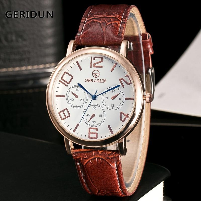 GERIDUN Reloj de los hombres de la marca de lujo famoso reloj de - Relojes para hombres - foto 1