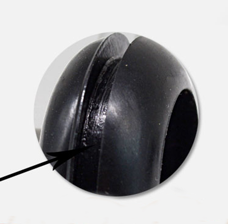 Negro De Goma Arandelas De Cableado Agujero Abierto Anillo de Alambre Cable Eléctrico