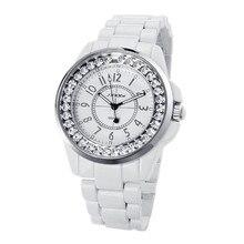 SINOBI Reloj de Lujo Del Rhinestone de Las Mujeres Relojes Mujeres Relojes Señoras Reloj de Acero Completo Reloj bayan kol saati montre femme del relogio