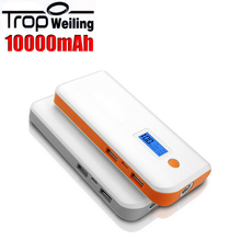 Tropweiling pover bank 10000mah portable phone battery charger poverbank mi power bank for All phones6 batterie externe