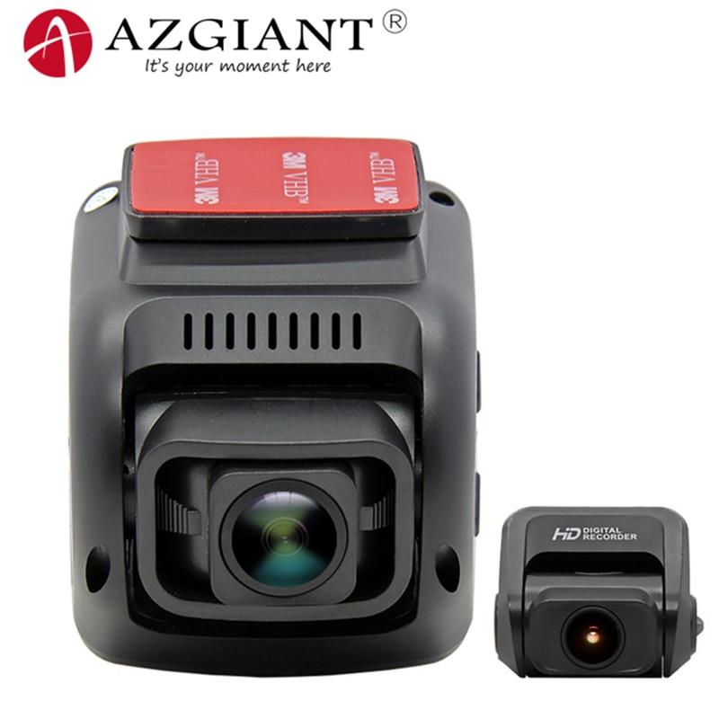 AZGIANT Full HD 2160P 4K Novatek 96663 V2 Dash Cam WIFI GPS Navigation Sony IMAX 323 Sensor Night Vision Car DVR Video Recorder видеокамера sony fdr x1000v 4k