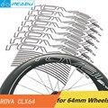 ROVAL CLX64 Road велосипедное колесо наклейки 64 мм колеса наклейки колеса довод дорожный велосипед колеса Базальт торможения колесной наклейки