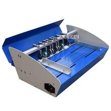460E машина для выдавливания электрическая машина для биговки карт Бумага Резак складной станок пунктирная линия машина для резки бумаги Scorer