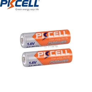 Image 4 - 10個pkcellバッテリーaa ni zn系aa充電式バッテリー1.6v 2500mWh bateria充電式batteriesforおもちゃカメラ電池