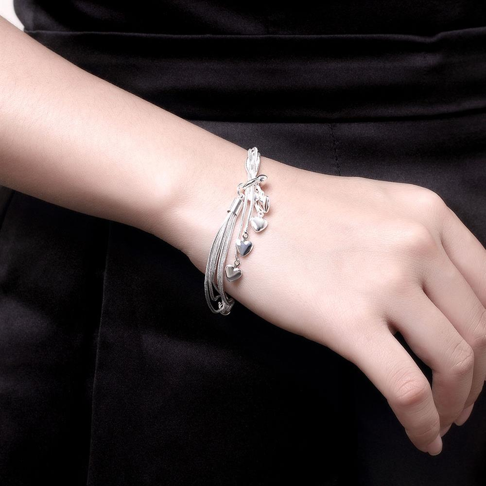 Heart Bracelet Charm Bracelets for Women Braslet Femme Bijou Pulseras Mujer Pulseiras Feminina Bracciali Armbanden Bileklik H067