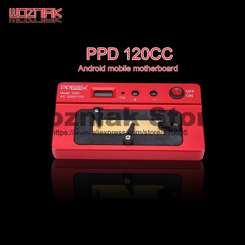 New PPD 120E CX CC QC intelligent dismantling platform for iphone 5 6 7 8 x Android BGA Mainboard CPU Special heating table
