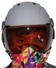 Dropshipping winter outdoor skiing helmet snow sport ski equipment snowboard skate helmets ABS light weight safty helmet