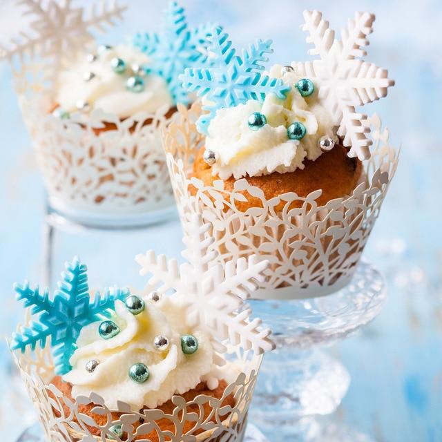 Kuchen Form 3 Teil Satz Schneeflocke Fondant Kuchen Dekorieren