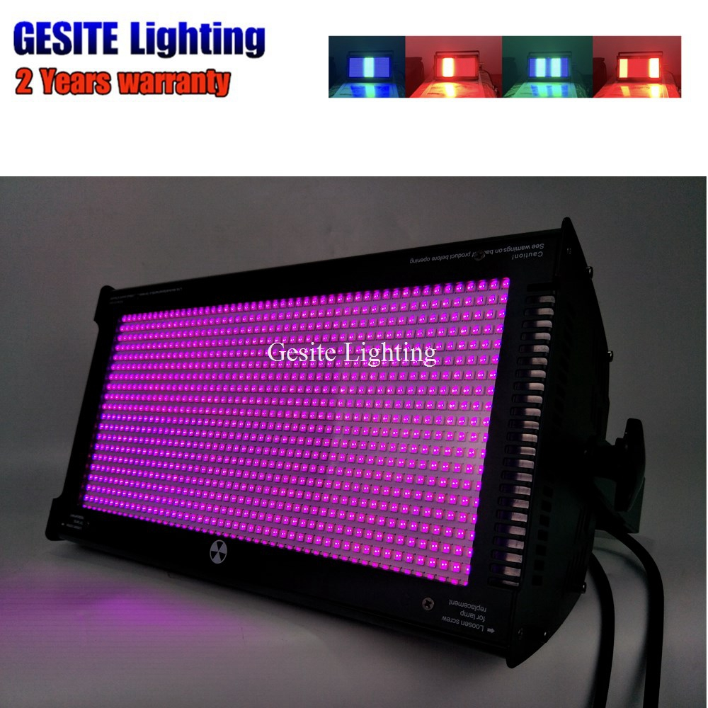 Rainbow effect Colorful 1000w led Strobe effect and Uniform RGB color mixing system