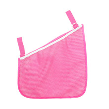 Mesh Polyester Baby Stroller Pram Net Mesh Hanging Bag Organizer Diaper Storage Tidy Net Accessories Home Item Mesh Polyester cheap Oxford cloth + mesh Carriage Organizer 7-9M 13-18M 10-12M 4-6M black pink blue 20*35*35cm