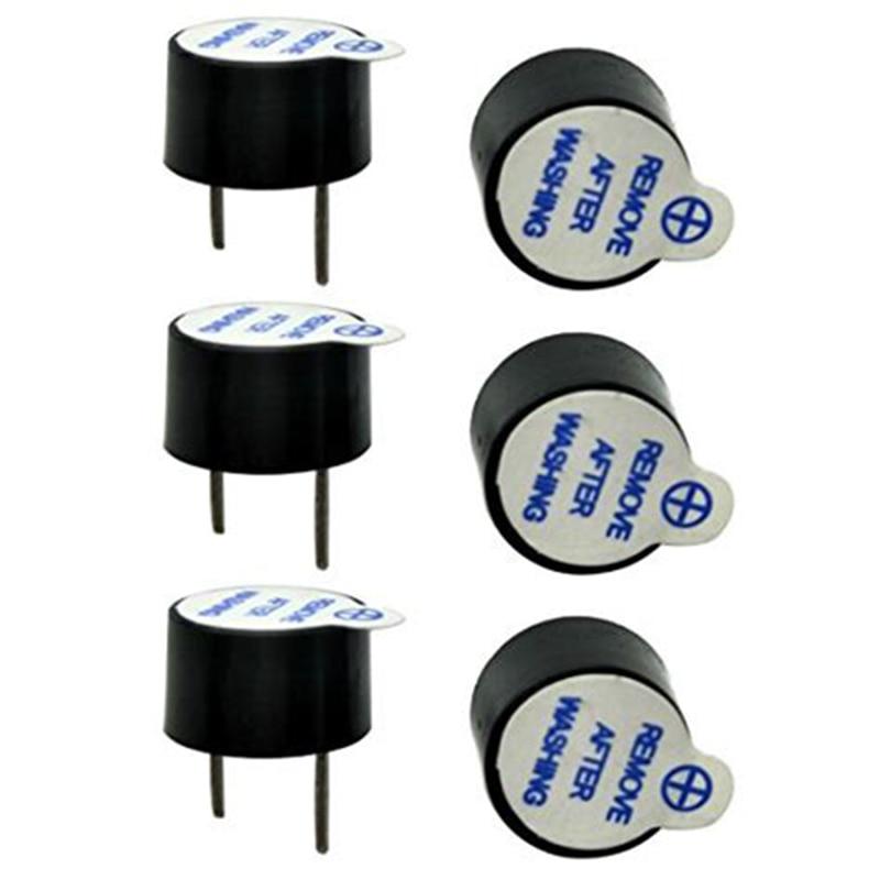 10 шт./компл. 5 в активный зуммер набор Магнитный длинный непрерывный сигнал бипера сигнал тревоги звонка 12 мм мини активные пьезоэлектрические зуммеры подходят для Arduino Diy|Акустические компоненты|   | АлиЭкспресс