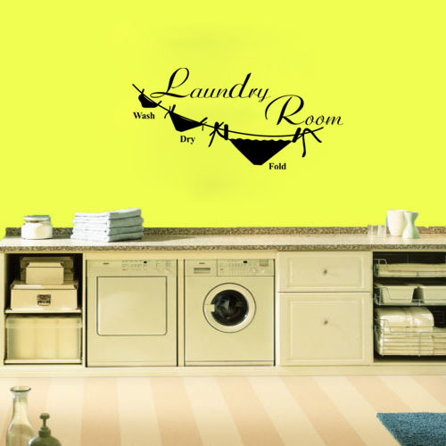 Online Shop Wall Decal Quote Sticker Vinyl Art Mural Letter Wash Dry ...