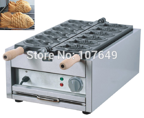 Free Shipping to USA/Canada/Japan/Mexico Commercial Use Electric 110v Taiyaki Fish Waffle Baker Maker Iron Machine free shipping commercial electric taiyaki korean poop bread waffle maker iron machine