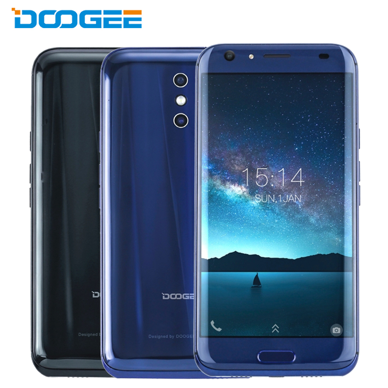 DOOGEE BL5000 Cell Phones 5.5 inch FHD 4GB+64GB MTK6750T Octa Core 8 Curves 5050mAh Dual 13MP Cameras Android 7.0 LTE Smartphone