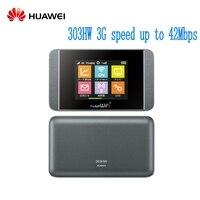 Unlocked Huawei 303HW 4G pocket wifi 4g LTE wireless router WCDMA 2100MHz 42Mbps Mifi router PK E5336 E5220 E5330