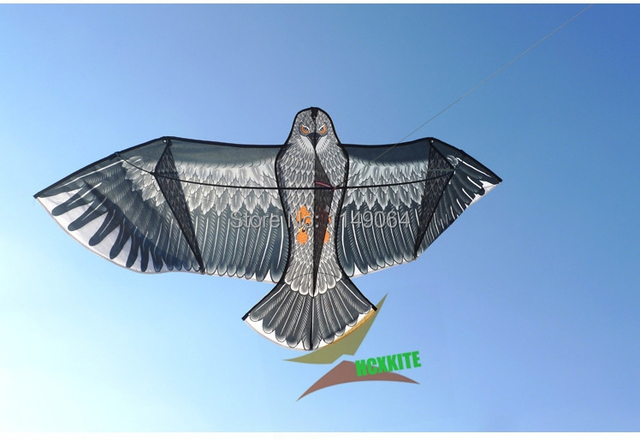 free shipping high quality large 1.8m eagle kite with handle line easy control ripstop nylon outdoor toys flying hcxkite volant