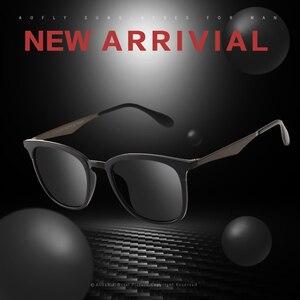 Image 2 - AOFLY Gafas de sol polarizadas Vintage para hombre y mujer, lentes de sol unisex de diseño de marca, adecuadas para conducir, de aleación, AF8120