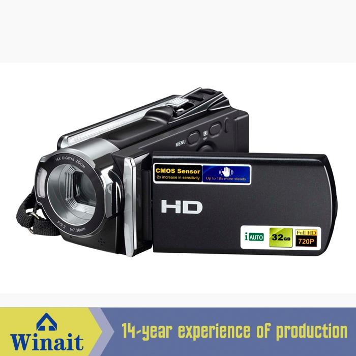 Hot Selling 3'' Inch HD 720P Digital Video Camcorder Camera With 16X   Digital Zoom 12 Mega Pixels Digital Video Camera hot sale easy use hd 720p 12m 8x digital zoom video camcorder camera gift for family happy recording 1pc