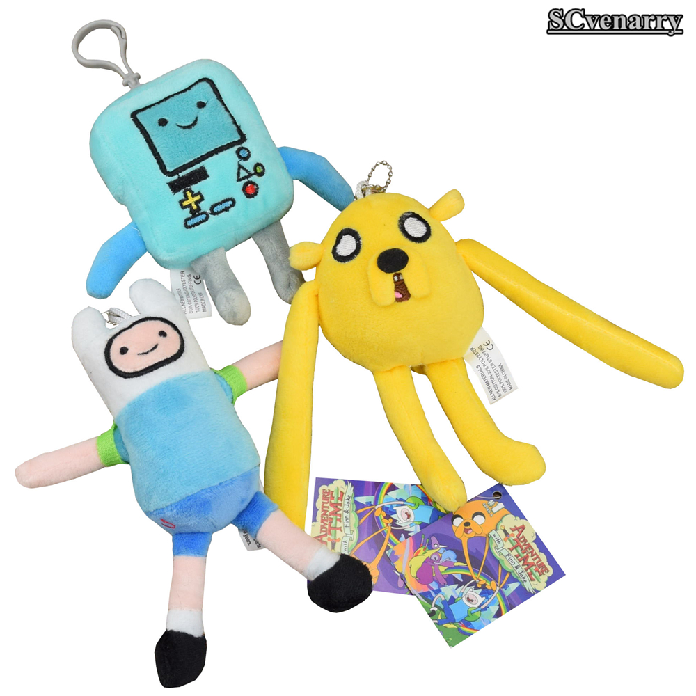 Anime Adventure Time Pictures 3pcs/lset cartoon toy anime adventure time finn jake beemo