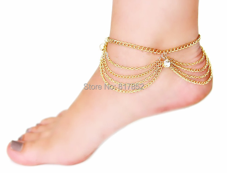 Free Shipping F14 Fashion Chain Ankle Chain Jewelry