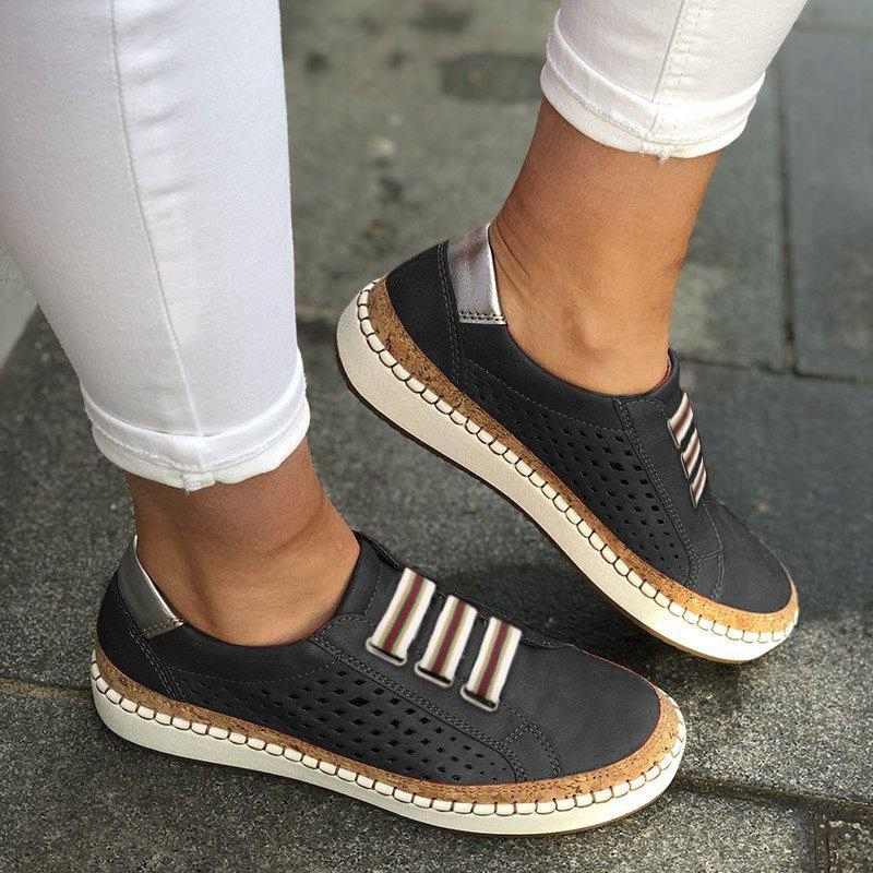 Fashion Breathable Spring Women Shoes White Women Casual Shoes Fashion Mesh Women Sneakers Flats Platform Lace-Up Summer