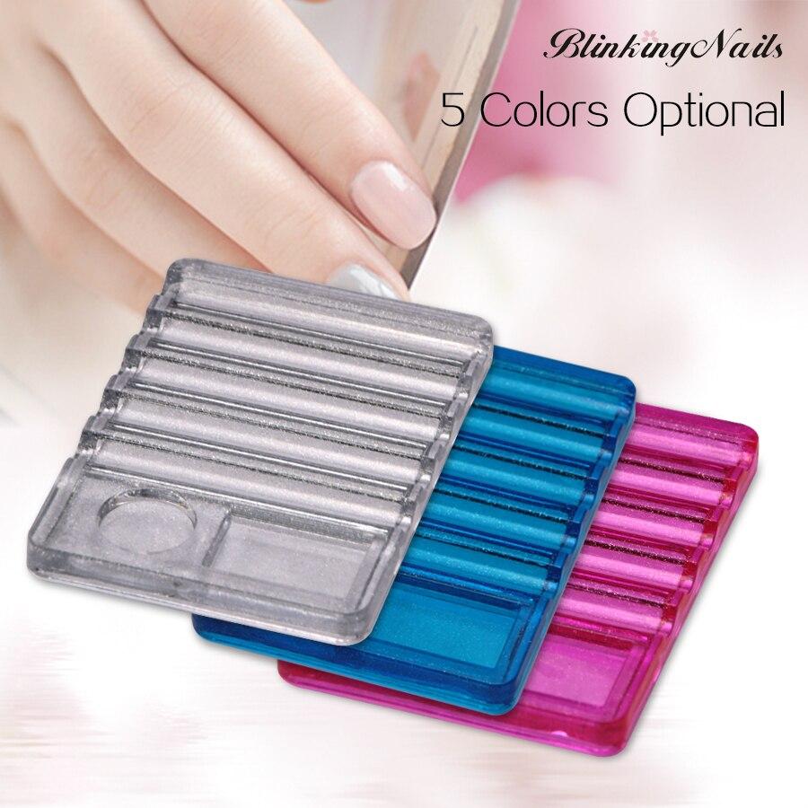 BlinkingNails El portapluma más nuevo con paleta para 5 pinceles de - Arte de uñas - foto 1