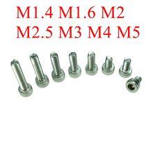 M1 4 M1 6 M2 M2 5M3 M4 M5 DIN912 304 Stainless Steel Hexagon Socket Head