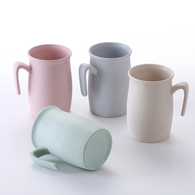 US $12 68 |YINUO 2018 Bamboo Fiber Breakfast Milk Cup Thickened Tea  Drinking Water Home Travel Coffee Plastic Bathroom Toothbrush Cup Mugs-in  Mugs