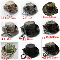 Outdoor-sport airsoft tactical sniper bonnie hats krempe sun hood camping jagd reisen eimer hut