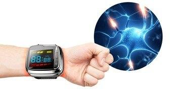 Lastek Mens wrist watches blood pressure monitor machine circulation of the blood treatment