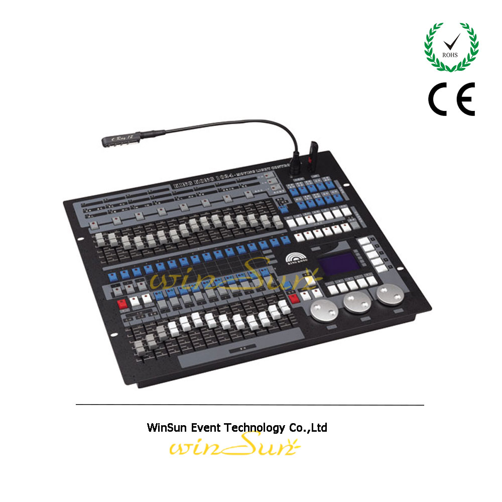 showtec creator king kong 1024 dmx 512 controller console stage moving head control board dmx. Black Bedroom Furniture Sets. Home Design Ideas