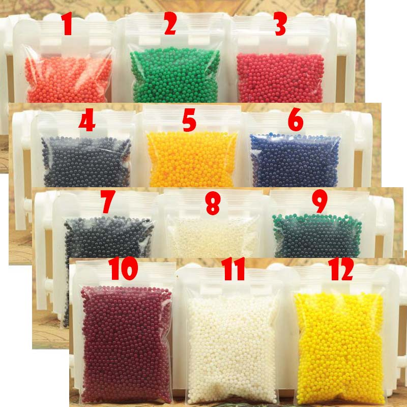 400 Particles /lot water beads Pearl shaped Crystal Soil Water Beads Mud Grow Magic Jelly balls wedding Home Decor free shipping