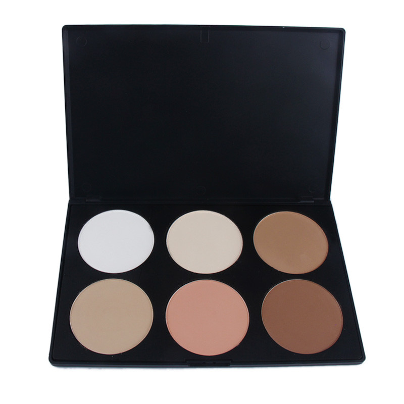 Make up pro 6 colors neutral warm eyeshadow palette eye for Warm neutral color palette
