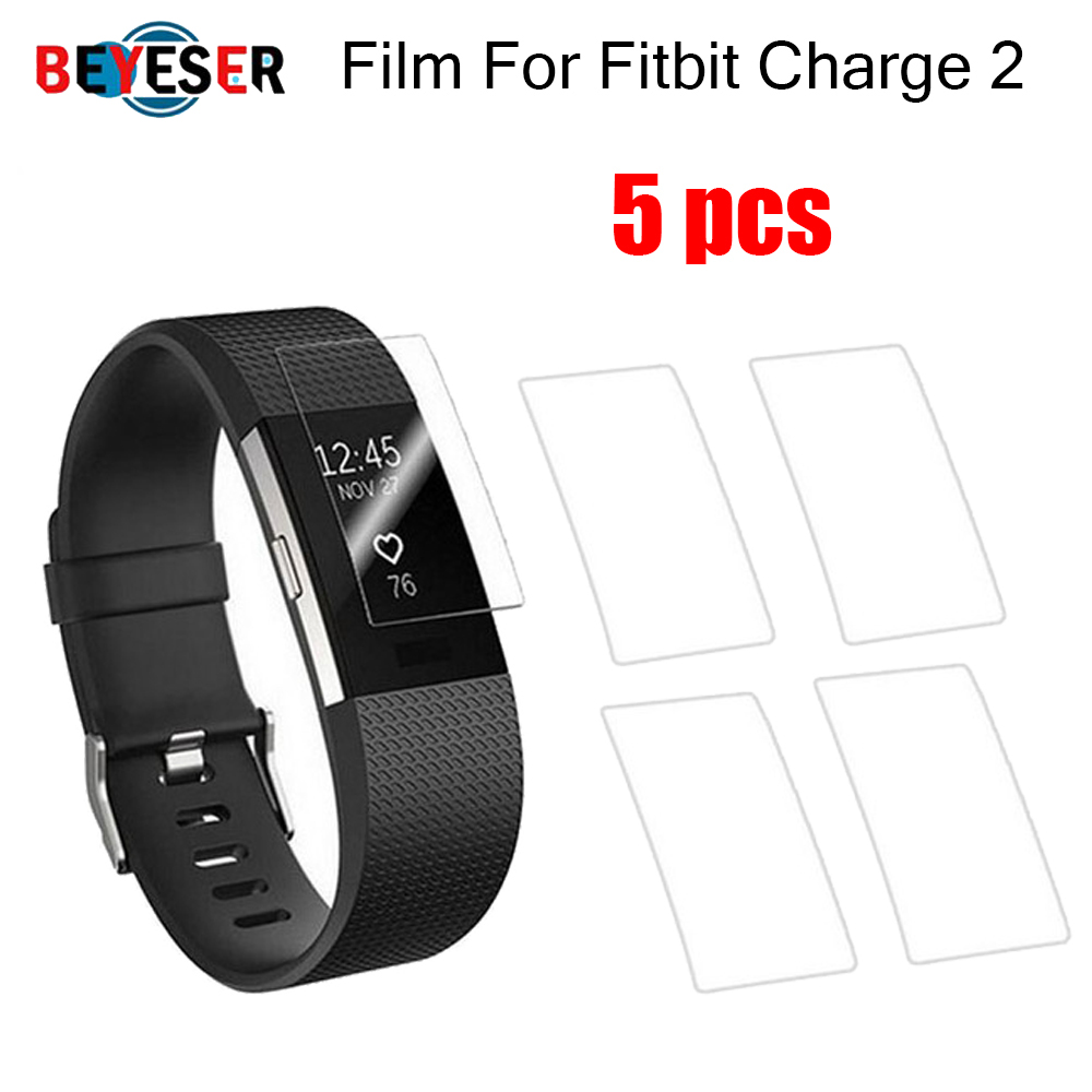 HD Screen Protector Film For Fitbit Charge 2 For Charge 3 Bracelet TPU Ultra Thin Explosion Guard Film Smartwatch Accessoires