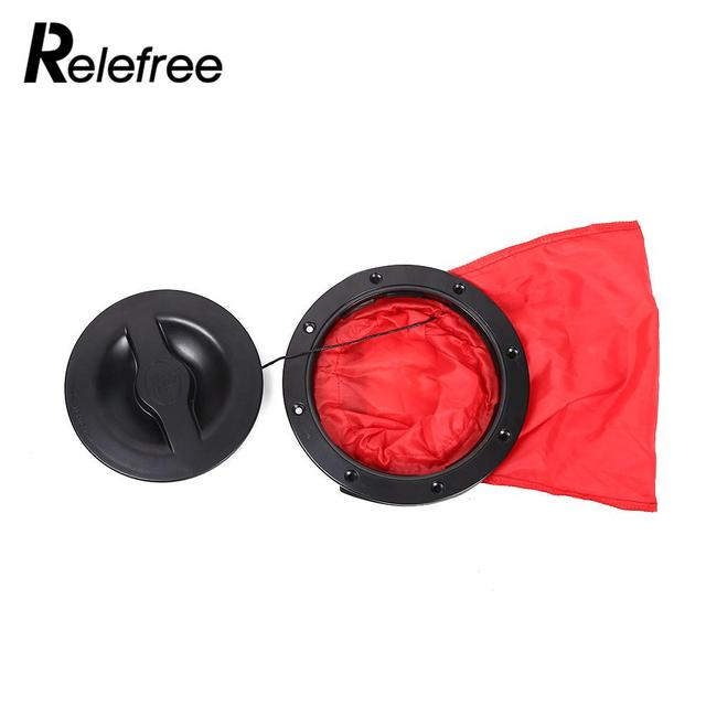 6 Inch Canoe Hatch Cover Deck Plate Pocket Rotate Accessories Portable