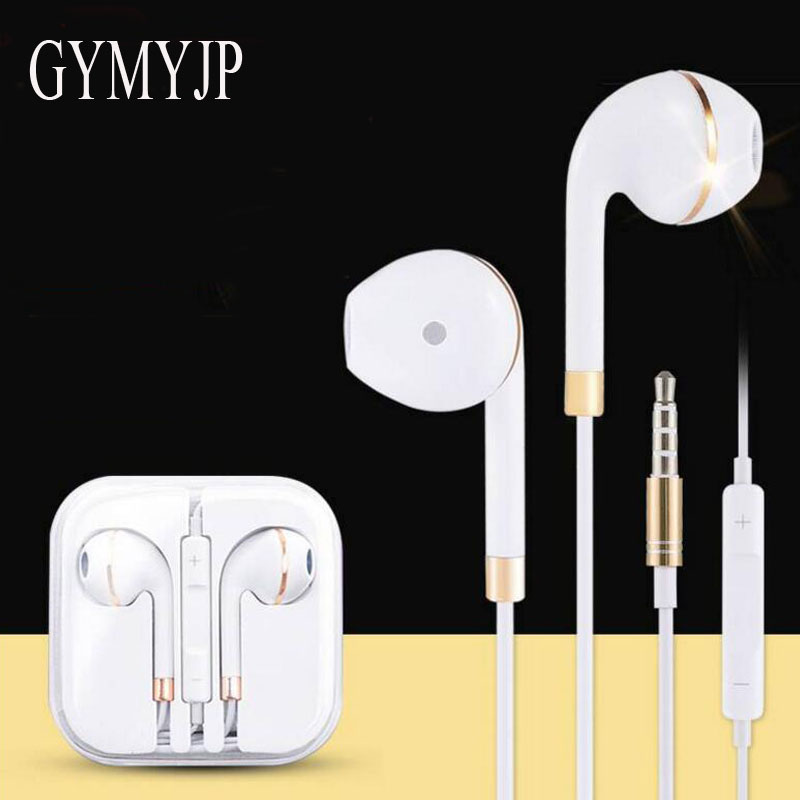 2017 new  GYMYJP High Quality 3.5mm Sports Headphones Earphones Headset for IPHONE 5 xiaomi 5S 6 s samsung S5 S6 mp3 mp4 new bluetooth 3 0 headphones bluetooth hat high quality headset stereo earphones for iphone 5 5s samsung galaxy