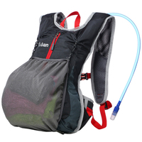 2L Water Bag Oxford Hiking Bag Tactical Backpack Outdoor Camping Camel Water Bag Breathable Fitness Travel Shoulder Bags