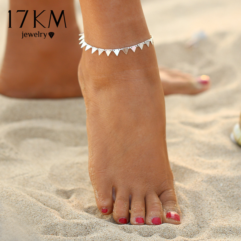 HTB1dAD6QXXXXXc_XpXXq6xXFXXX2 Charming Triangle Geometry Fashion Anklet