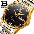 Швейцарские мужские часы люксовый бренд Бингер автоматические механические часы полностью из нержавеющей стали водонепроницаемые сапфир...