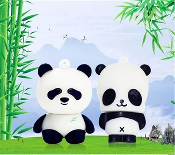 New arrival pen drive cartoon bearcat 4gb 8gb 16gb 32gb 64gb usb flash drive panda animal flash memory stick pendrive gift