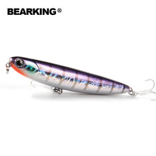 Hot model Bearking brand quality pencil 11cm 13g Fishing Wobblers 1PC Fishing Lure Bait Swimbait Crankbait with 2xstrong Hook(China)