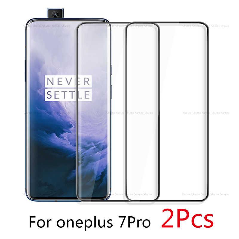 2 шт закаленное стекло на для Oneplus 7 Pro Полный протектор экрана One Plus 7Pro 1 + Защитная