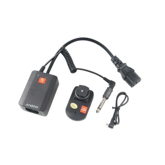Andoer Universal  AC 04  4 Channels Wireless Remote Radio Studio Flash Speedlite Trigger Set  Transmitters for Strobe