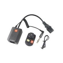 Andoer universal AC 04 4 canais rádio remoto sem fio estúdio flash speedlite gatilho conjunto transmissores para strobe