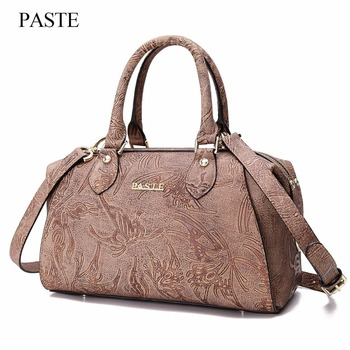 2018 New Fashion Brand Top-Handle Bags Luxury Top Women Genuine Leather Shoulder Bag Charm Ladies Handbag Clutch female Bags sac